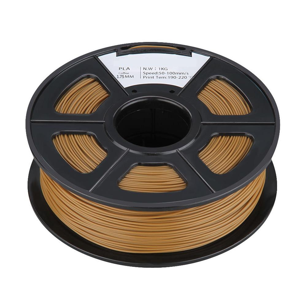 PLA 1KG 1.75mm Repraper 3D Printer Filament Bundle for Reprap Mendel CHOCOLATE цена и фото