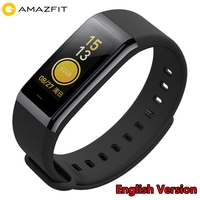 Original Fitness Bracelet Xiaomi Amazfit Cor English Version Midong Smart Band 1.23Color Screen 5ATM Waterproof Smart Wristband