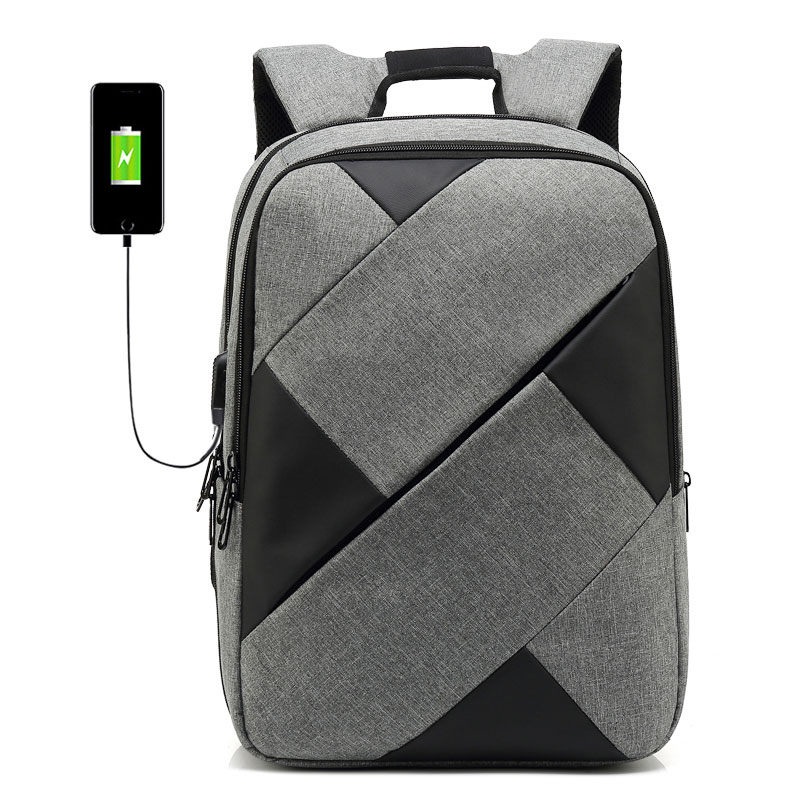 VEJIERY USB Charge Anti Theft Backpack for Men 15 6 Inch Laptop Backpacks Fashion School Bag