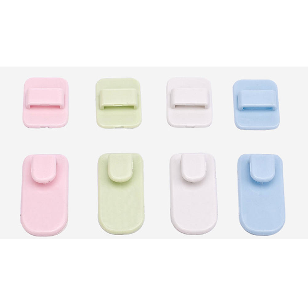 Image 5 - 10PCS Remote Control Holder Wall Mounted TV Air Conditioner Remote Control Key Wall Storage Holder Sticky Remote Wall Holder-in Storage Holders & Racks from Home & Garden