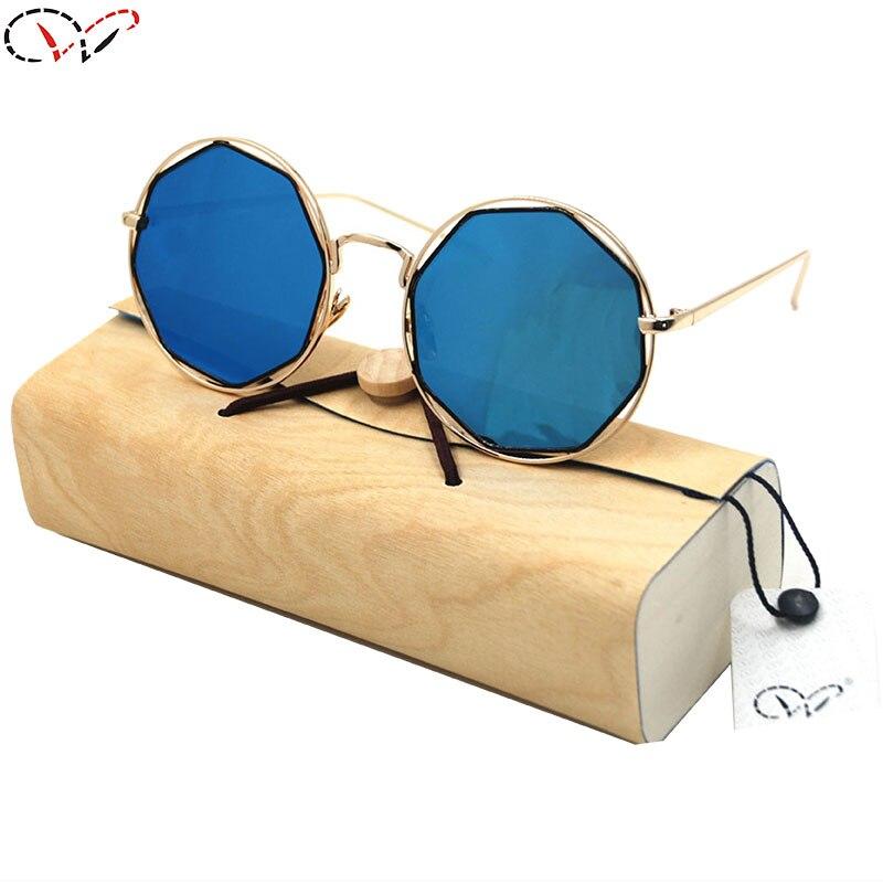 cheap designer frames c6po  13 Colors Fishing Discount Designer Sunglasses Round Frame PC Mirror Blue  Lenses Men Women Discount Designer