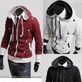 2017 brand Classic Men's Sweatshirt, Men's Jacket ,hoodies coat Sportswear hoody outerwear Zippered Cardigan Free shipping