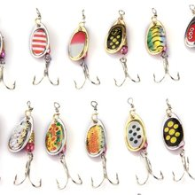 30 X Fishing Lures Crankbait Minnow Popper Bass Baits Hooks Tackle Random Color