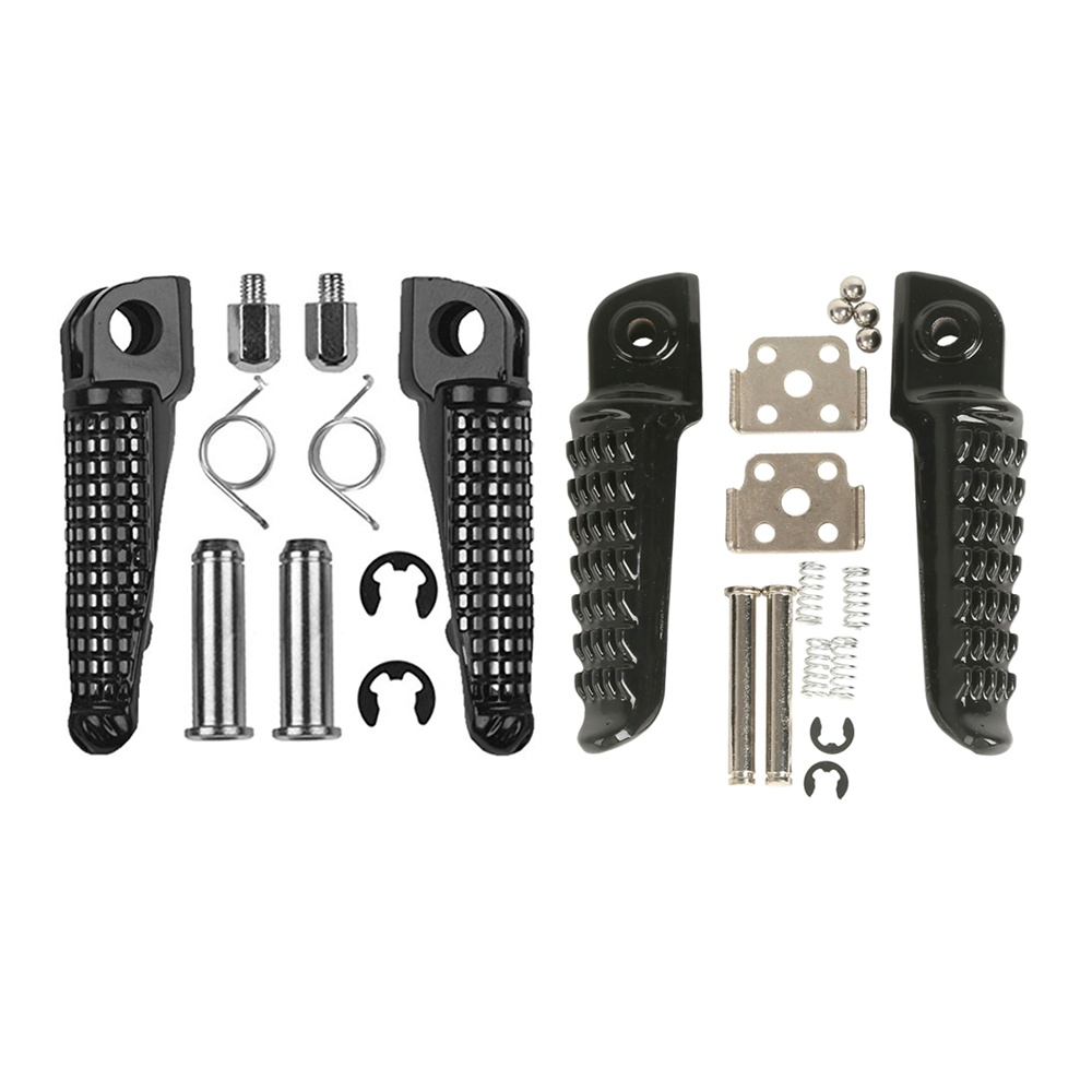 Motorcycle Front Rear Footrests Foot Pegs For Kawasaki Ninja 250 Z750 Z800 Z1000 SX ER6F ER6N ZX-6R 636 ZX-9R ZX-10R ZX-12R ZX-1