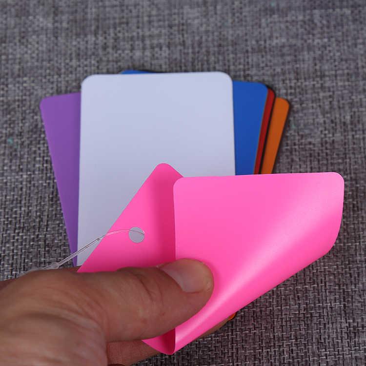 7e4cbf099eae Detail Feedback Questions about 100 Color plastic sheet tag+100 ...