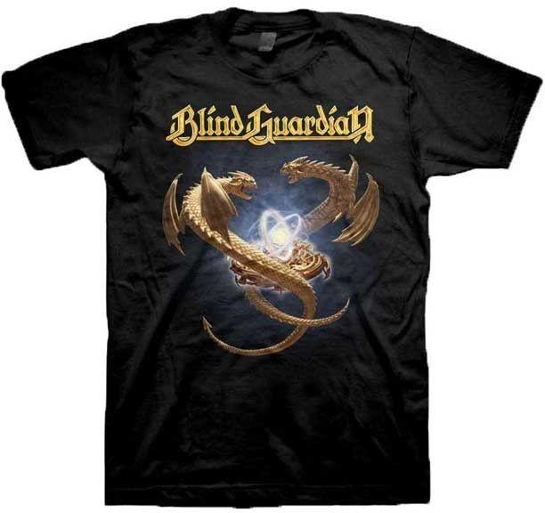 Gildan BLIND GUARDIAN Dragons T SHIRT brand New Official T Shirt short sleeve t shirt