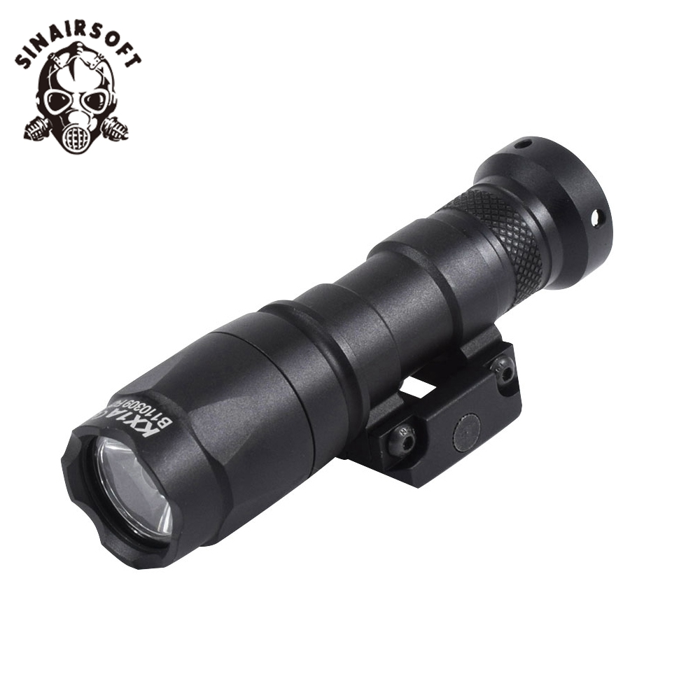SINAIRSOFT Element Tactical M300 Mini Scout Light 250lumen flashlight with remote switch tail and 20MM Weaver