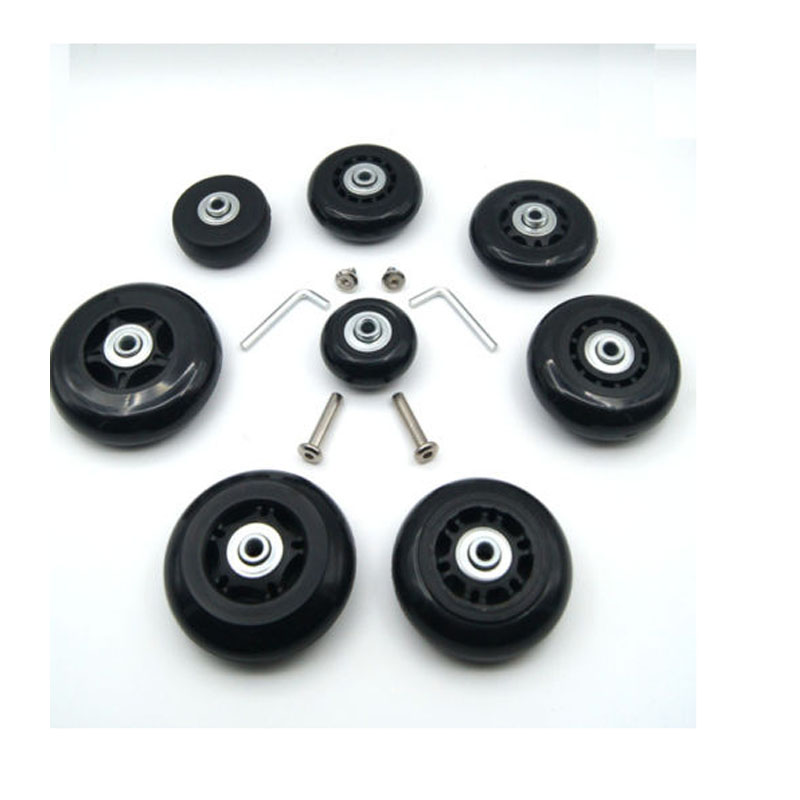 2 pcs Replacement Luggage Suitcase Inline Skate Wheels ...