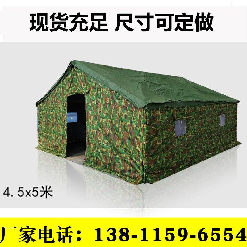 Grande tente de Camping toile imperméable en fibre de verre 5 40 personnes Tunnel familial 20 personnes