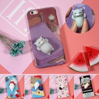 Case For IPhone 6 6S 6 Plus 3D Cute Soft Silicone Soft Panda Cat Phone Bag