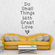 Removable sentence Pvc Wall Stickers For Babys Rooms Decal Home Decor Bedroom