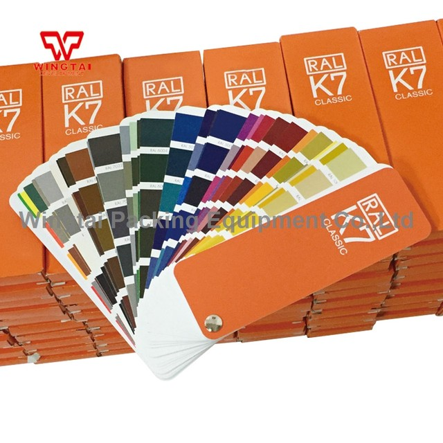 Online Shop 1 book German RAL Color Guide K7 Color Fan Deck With 213 ...