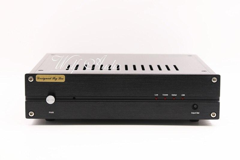Nouvelle Version Fini L1543DAC 16X Seize Parallèle TDA1543 HiFi Audio DAC Décodeur Numérique/Analogique D'entrée-Noir