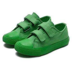 Image 3 - นักเรียนผ้าใบรองเท้าBreathableรองเท้าแฟชั่นรองเท้าผ้าใบลูกกวาดอนุบาลเด็กรองเท้าSapato Infantil
