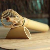 1 pc bambu estilo japonês pó batedor chá verde preparação matcha escova Escovas p/ chá Casa e Jardim -