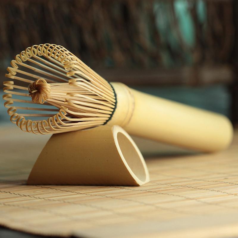 1PC Bamboo Japanese Style Powder Whisk Green Tea Preparing Matcha Brush