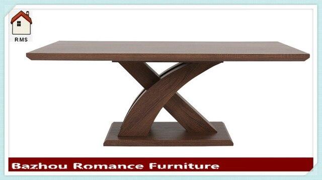 Nuevo diseño ikea muebles MDF mesa de comedor de madera en Mesas de ...