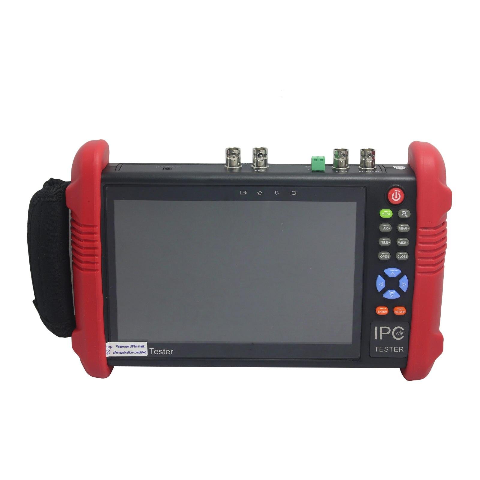 IPC9800ADHS 7 Touch HD 1080P TVI CVI AHD SDI CVBS CCTV IP Camera Monitor Tester miniature size 6 in 1 1080p waterproof bullet mini camera support ahd tvi cvi cvbs hd sdi ex sdi for bank army prison