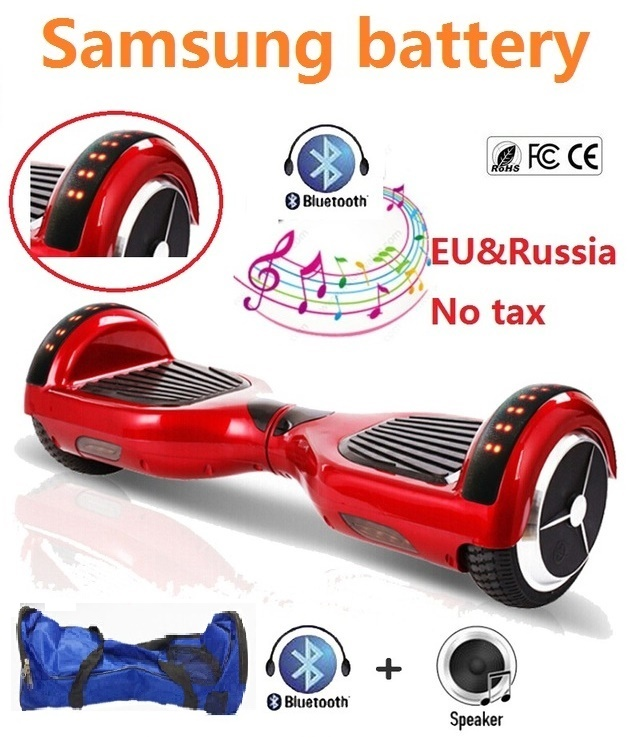 Electric self balancing scooter LED lights hoverboard bluetooth 2 wheel electric standing scooter electric skateboard giroskuter iscooter hoverboard 6 5 inch bluetooth and remote key two wheel self balance electric scooter skateboard electric hoverboard