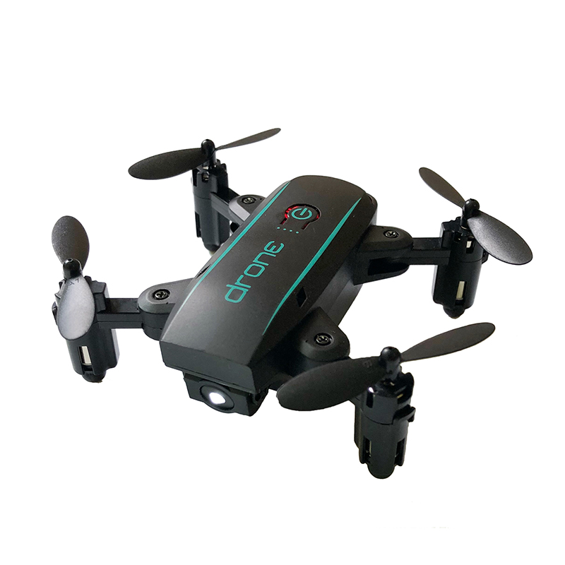 JMT 1601 Mini Foldable Drones with Camera HD 0.3MP 2MP Real Time Video Altitude Hold Drone WIFI FPV RC Quadcopter Toys Drone 3
