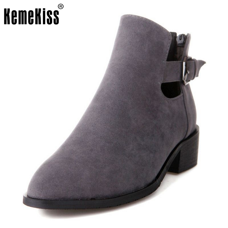 Women High Heel Ankle Boots Short Boot Martin Autumn Winter Botas Fashion Footwear Brand Heels Shoes Woman Size 34-39