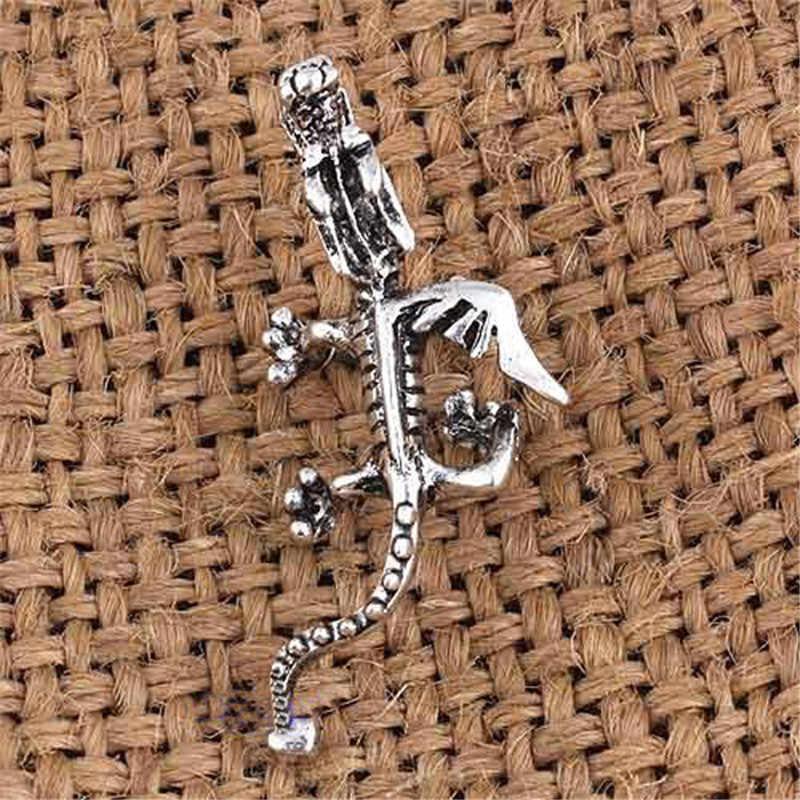 בציר אופנה עתיק זהב כסף צבע הדרקון אוזן קליפ אוזן עגילים וחפת לנשים Femme עגילי תכשיטים