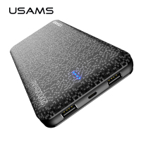 USAMS Mosaic Ultra Slim 20000mAh Powerbank For Mobile Phone Universal Portable Power Bank