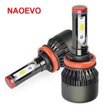 NAOEVO H11 led font b Lamp b font H8 Car LED Headlight H9 Bulb Automobiles Light