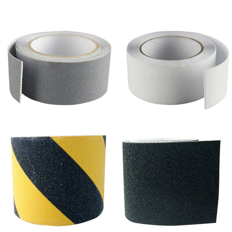 5cm*5M Wear-Resistant Surface Anti-Slip Tape Corridor Stairs Tread Step Safety Waterproof Tapes Practical Non Skid Safety Tapes corridor safety modeling via segmentation