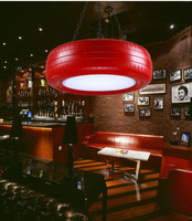 Loft Style Industrial hanging Light Retro Colourful Tires Pendant light for Dining Room Bar Restaurant Coffee hall