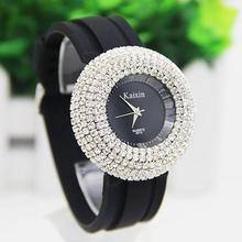 2017 new Fashion Brand Shinning women Watches silicone bracelet small dial Wristwatch Quartz watch women horloge