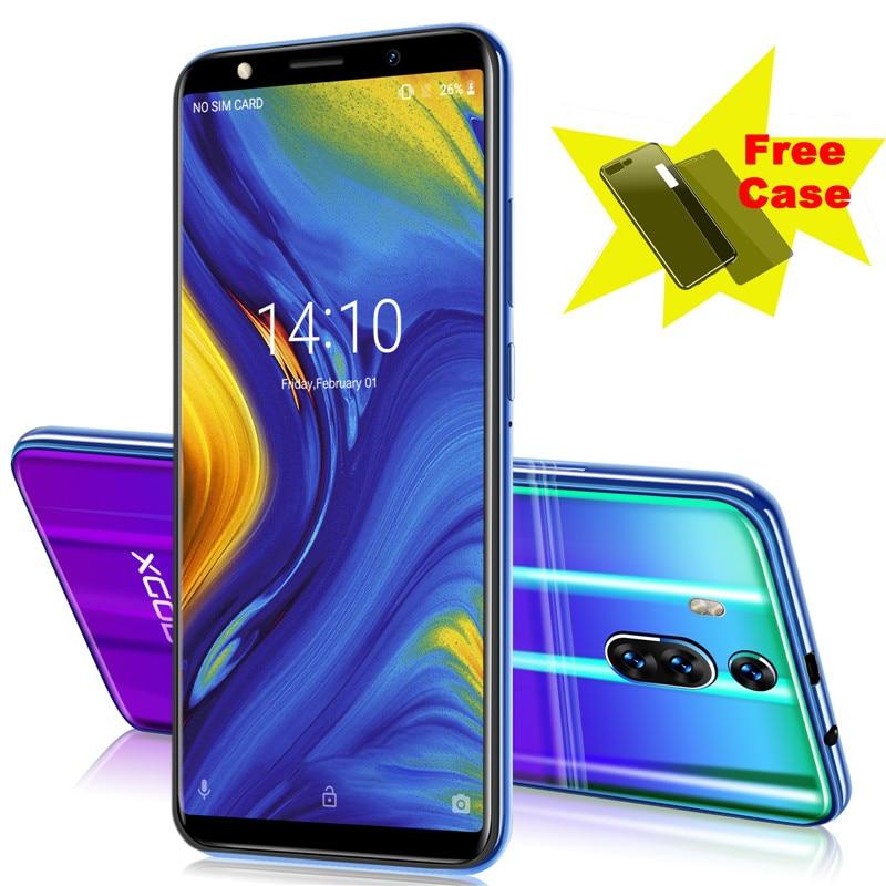 XGODY Novo celular 8 3G 1 GB de RAM GB ROM 6 Polegada 18:9 Tela Cheia Do Telefone Móvel Smartphone Android 8.1 2800 mAh Telefone Companheiro RS