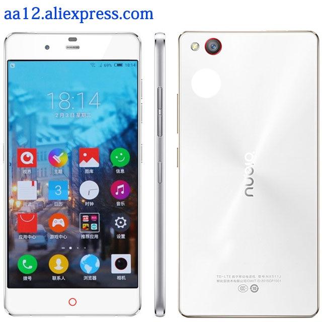 New Original ZTE Nubia Prague S 4G LTE Mobile Phone 5 2 Octa Core 3GB RAM