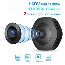 H6 DV Wifi Micro Camera HD 1080P Night Version Action Mini Cameras motion Sensor Camcorder Voice Video Recorder Small sports Cam(China)