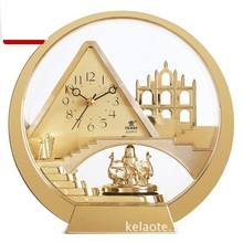 christmas decorations for home European style creativity desk clock home accessories modern living room study small pieces small scale style paging desk clock black