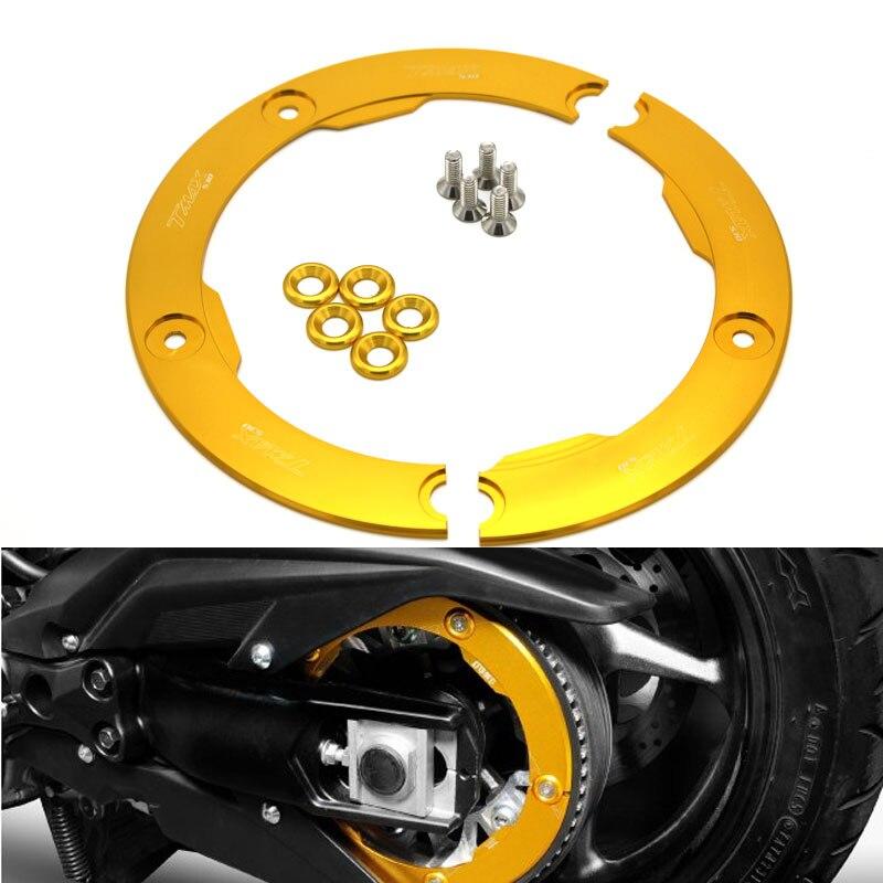 K-SHARPMOTOR K-PCR-TMAX  Motorcycle Parts CNC Aluminum Transmission Belt Pulley Protective Cover For Yamaha T MAX 530 2012-2015 k sharpmotor k pcr tmax  motorcycle