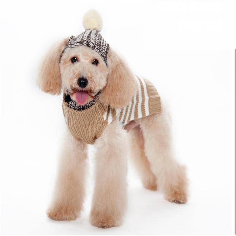Perro sombreros para mascotas Funny suéter con el sombrero tapa suministros  petcircle gorras de hombre sombrero mascota Gorros para perro vestido  principal ... d239cb6fc54