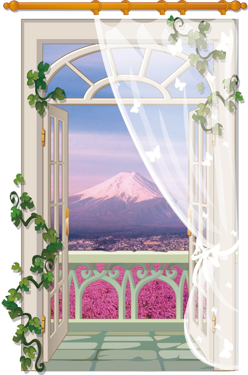 online buy wholesale nature scenic wall stickers from china nature