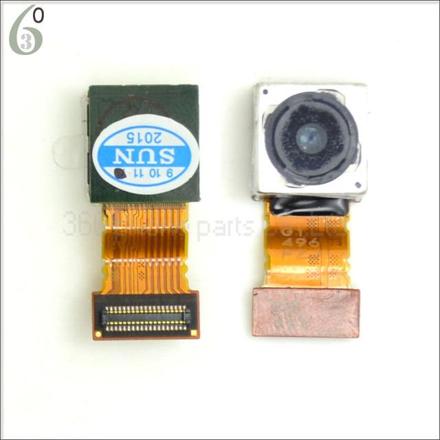 Original para sony xperia z3 d6603 d6643 d6653 d6653 d6616 voltar câmera traseira enfrentando megacam peças módulos cabo flexível