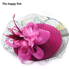Classic Fascinator Pillbox Hat