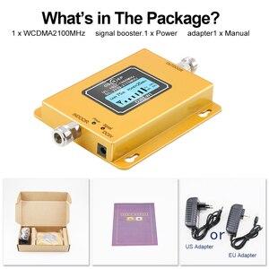 Image 5 - 70db 3g 2100 telefon komórkowy 2100 MHz wzmacniacz 2100 MHz wzmacniacz sygnału LCD Mini 3G LTE WCDMA UMTS nie w tym antena
