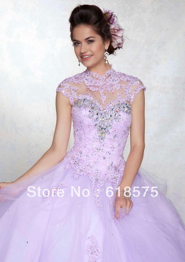 Aliexpress.com : Buy Classic Crystal Quinceanera Dresses ...