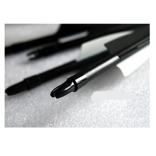 Free Shooting Bows Arrows 28 inches,Spine 400,Black White Target Practice Arrow Steel Point Archery Fiberglass Arrows