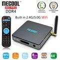BB2 MECOOL Pro DDR4 S912 Amlogic Octa núcleo Android 6.0 CAIXA de TV 3G 16G UHD 4 K WiFi Gigabit LAN PK X96 H96 Set Top Box caixa de Tv Inteligente