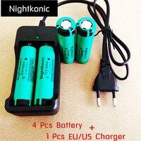 High Quality UltraPanic 18650 Battery Original 3 7V Li Ion Rechargeable Battery Flashlight Battery