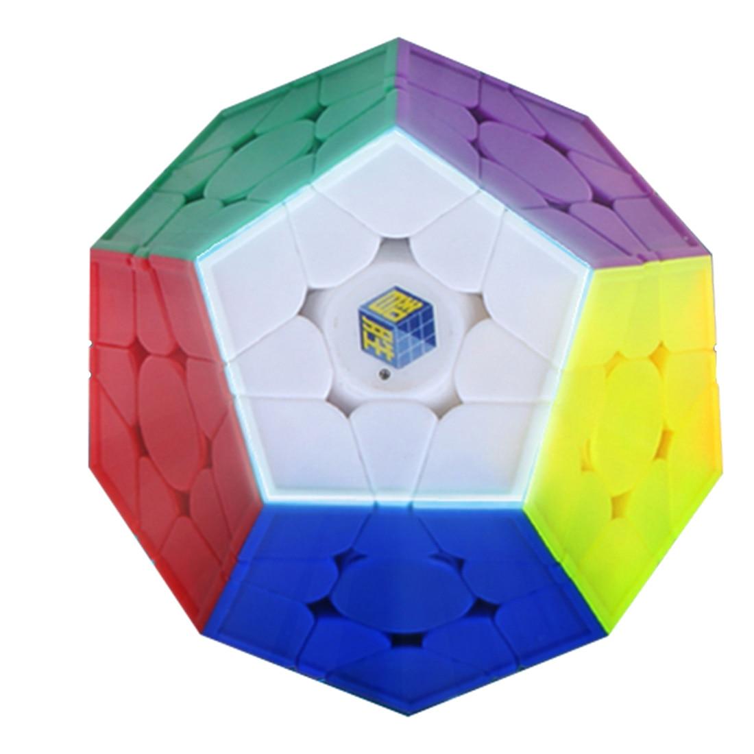 Yuxin Peu de Magie V2 3x3 Megaminx Brain Teaser Magic Cube Twisty Puzzle Jouet-Coloré