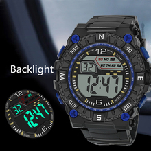 Military Clock Men Watches LED Watch Electronic Digital Retro Style Relogio Electronics Males WirstWatch Masculino
