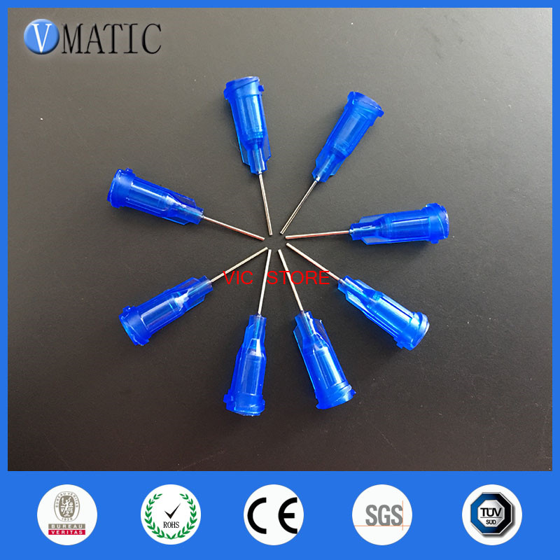 Free Shipping Top Quality Assurance Chinese Tips 100Pcs 22G 0.5'' 1/2 Inch Plastic Syringes Needle