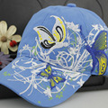 New Style High Quality Baseball Cap Butterflies and Flowers Embroidery Cotton Cap Sport Casual Hats Women Snapback Cap Sunbonnet