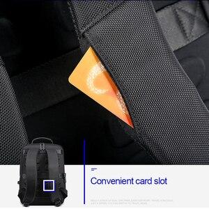 Image 4 - Bopai multifunction ampliar mochilas portáteis usb de carregamento 15.6 Polegada mochila anti roubo masculino grande capacidade viagem saco